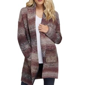 Kismet Open front with shawl collar cardigan